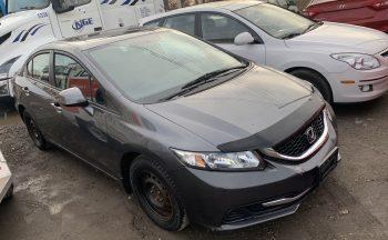 2013 Honda Civic – Alloy Rims