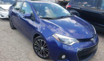 2014 Toyota Corolla S full