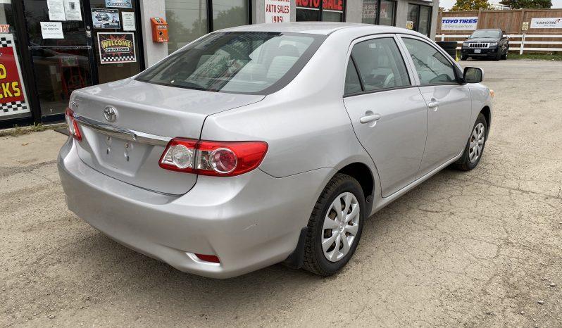2011 Toyota Corolla full